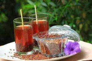 Trà gạo lứt giàu chất dinh dưỡng